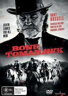 Bone Tomahawk (DVD, 2016) New & Sealed