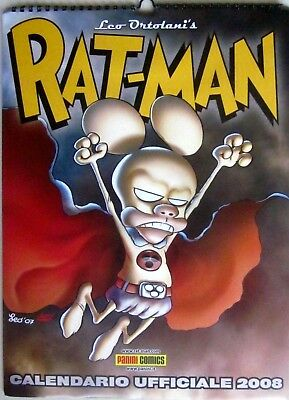 L7  Calendario Ufficiale 2008 - Rat-Man - Leo Ortolani - Panini Comics- Blister