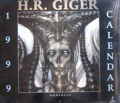 I9   Calendario 1999 - H. R. Giger - Morpheus International - Blister Originale