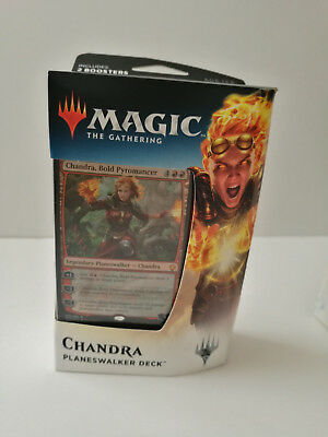 Magic the Gathering Dominaria Planeswalker deck - Chandra Bold Pyromancer NEW