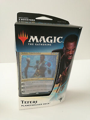 Magic the Gathering Dominaria Planeswalker deck - Teferi Timebender NEW