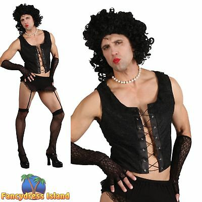 Rock Guy Rocky Horror Picture Show Retro Adult Mens Fancy Dress Costume Stag Do