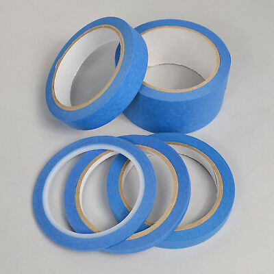 Blue Roll Fineline Automotive Detailing Clean Peel UV Resistant Masking Tapes