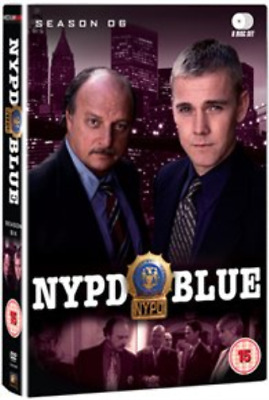 Dennis Franz, Gordon Clapp-NYPD Blue: Season 6  (UK IMPORT)  DVD NEW