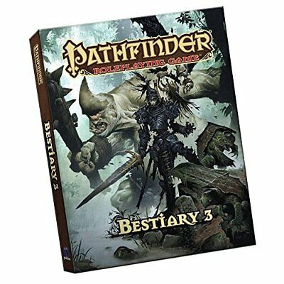 Pathfinder Roleplaying Game:­Bestiary 3 Pocket Edition - Paperback NEW Publishin