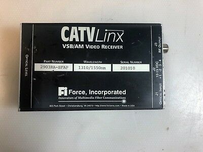 Force Incorporated Catv Linx Vsb/am Video Receiver 2903ra-sfap