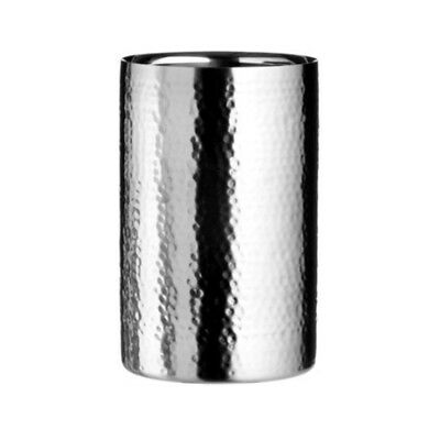 Hammered Effect Double Wall Wine Cooler 1.5ltr | Stainless Steel Insulated -