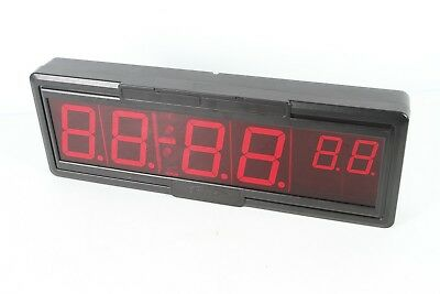 Primex Synchronized Wireless Clock Digital Timer Broken Cover Short Power Cable