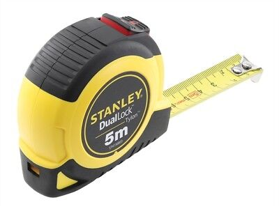 Stanley Tools - Dual Lock Tylon™ Pocket Tape 5m (Width 19mm)