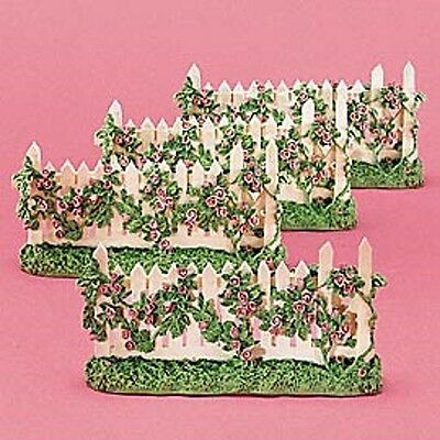 Dept 56  Snowbunnies  Garden Picket Fence