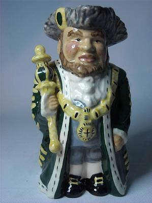 "Roy Kirkham LORD MAYOR Staffordshire 8"" Toby / Character Jug 20cm - 5 Photos"