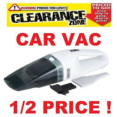 12 Volt Car Vac / Hoover Plug In Cig Lighter & 3 Armorall Air Fresheners - SWCV5