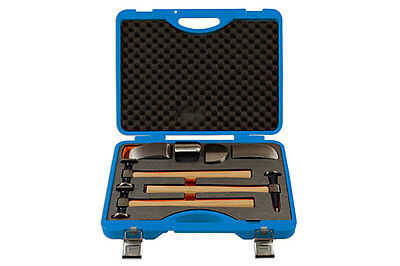 Genuine Power-TEC 92437 Body Hammer And Dolly Set 7pc - Professional quality