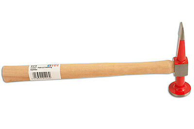 genuine Power-TEC 91213 Cross Pein and Finishing Hammer - genuine hickory shaft