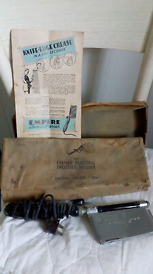 Vintage Empire Electric Trouser Presser with box and instruction leaflet