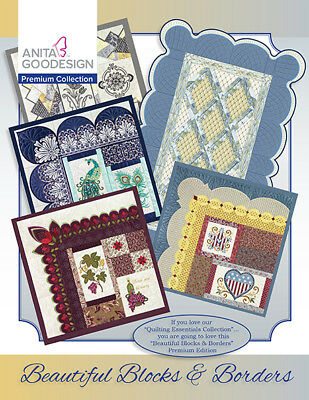 Anita Goodesign Premium Edition Beautiful Blocks & Borders Quilting with BOOK