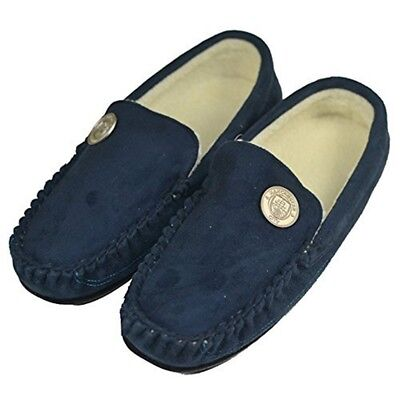 Manchester City F.c. Stadio Moccasin Slippers (7/8-9/10-11/12) (7/8) - 7 8 Soft