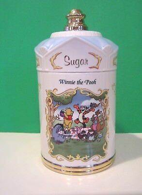 LENOX WINNIE the POOH SUGAR CANISTER from The Disney set NEW in BOX