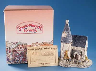 David Winter Cottage The Chapel 1984   Box COA