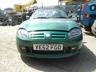2003 MG TF 135 Sports, 1.8L Petrol, parts spares. Time Clock