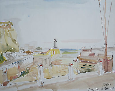 JEAN PAUL ULYSSE (1925/2011) - SAINT VALERY IN CAUX - Signed