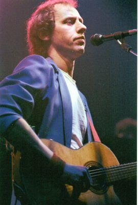 Dire Straits Photo Mark Knopfler 1982 Unique Unreleased Image Huge 12Inch Rarity