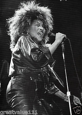 Tina Turner Photo 1985 Unique Unreleased Huge Close Up 12 Inch B&white Exclusive