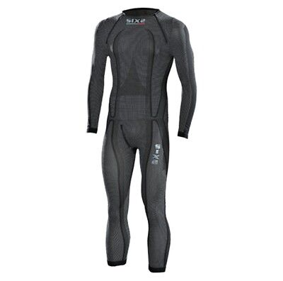 SixS STX Carbon Mens Under 1 Piece Suit Black Carbon