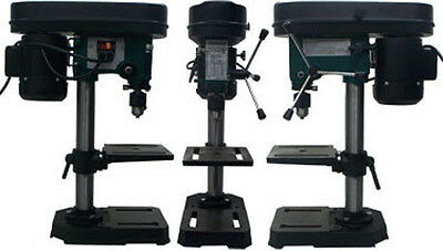 """5 Speed Drill Press Jeweler Hobby Table Bench Top 1/2"""" Chuck 3070 RPM"""