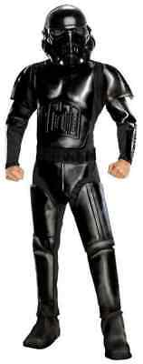 Shadow Trooper Star Wars Black Stormtrooper Fancy Dress Halloween Adult Costume