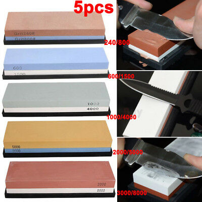 2000/5000/3000/8000/1000/4000 Grit Sharpening Whetstone Water Stone Dual Knife