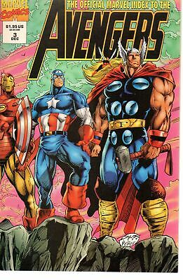 Official Marvel Index to the Avengers 3      Marvel 1994