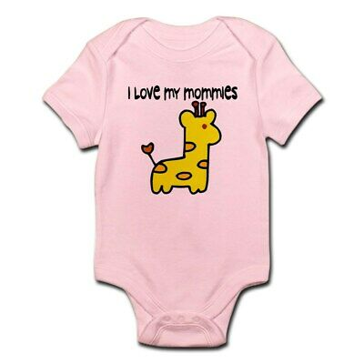 68a4a14af CafePress #5 I Love My Mommies Infant Creeper Baby Bodysuit (42201516)