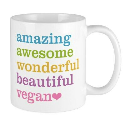 CafePress Amazing Vegan Mugs 11 oz Ceramic Mug (1340090450)