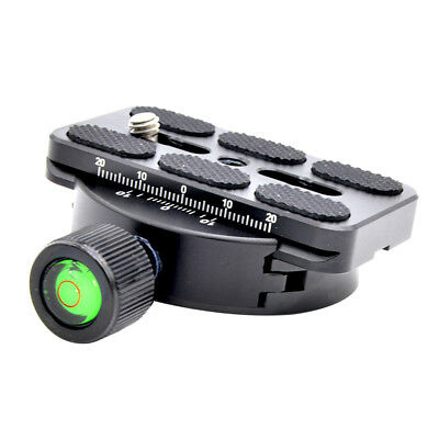 QR Clamp and Quick Release Plate 80mm for Arca Swiss Benro Ballhead Tripod