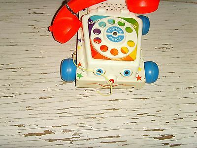 Vintage Fisher Price Chatter Telephone parts pieces repair retro childrens toy