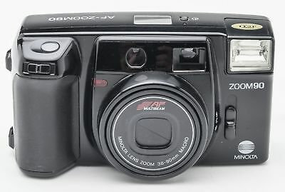 Minolta AF-Zoom 90 Kompaktkamera Kamera Camera mit 38-90mm Macro Optik