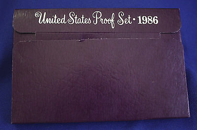 1986-s  U.S.Proof set. Genuine. complete and original as issued by US Mint.
