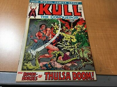 Kull The Conqueror 1972 Marvel Comic Book #3 EF