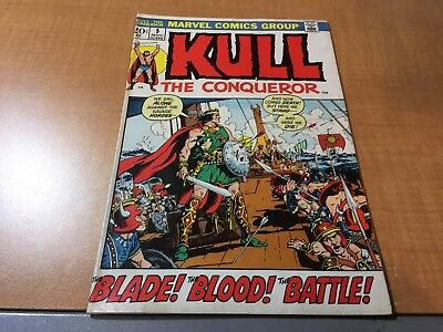 Kull The Conqueror 1972 Marvel Comic Book #5 EF