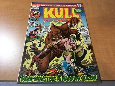 Kull The Conqueror 1973 Marvel Comic Book #10 EF B