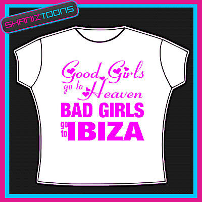 Ibiza Girls Womens Ladies T Shirt
