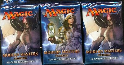 Mtg Magic  3  Boosters Modern Masters 2017 Edition Anglais