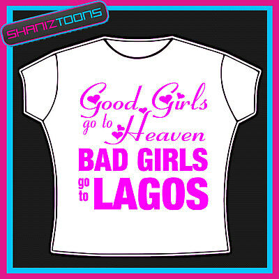 Lagos Girls Holiday Hen Party T Shirt