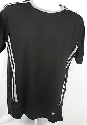 Activewear Tops Nordic Track Black Polyester Nt Dri T Shirt Mens Size Medium