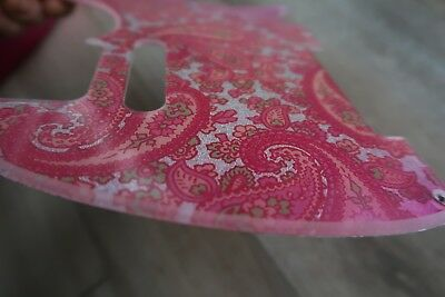 60s 70's USA Fender Pink Paisley Telecaster Pickguard  5 hole Tele  All Parts