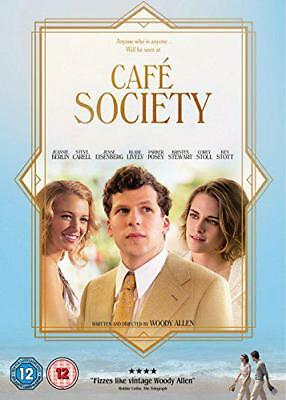 Café Society [DVD] [2016], DVD, New, FREE & Fast Delivery