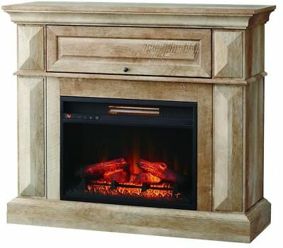 Infrared Electric Fireplace Tv Stand A Console Fire Place Heater Home Decor