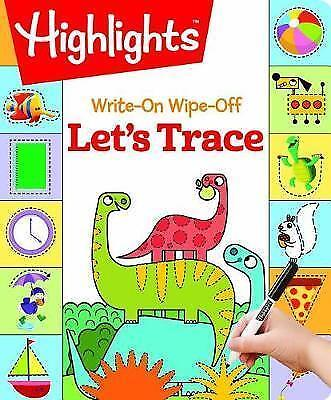 Write-On Wipe-Off Let's Trace (Highlights™ Write-On Wipe-Off Fun to Learn Activi