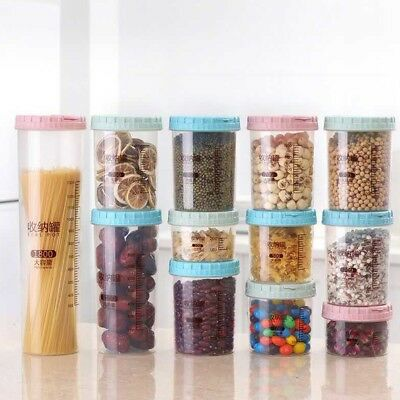 Dried Food Cereal Flour Pasta Food Storage Dispenser Rice Container Sealed Box